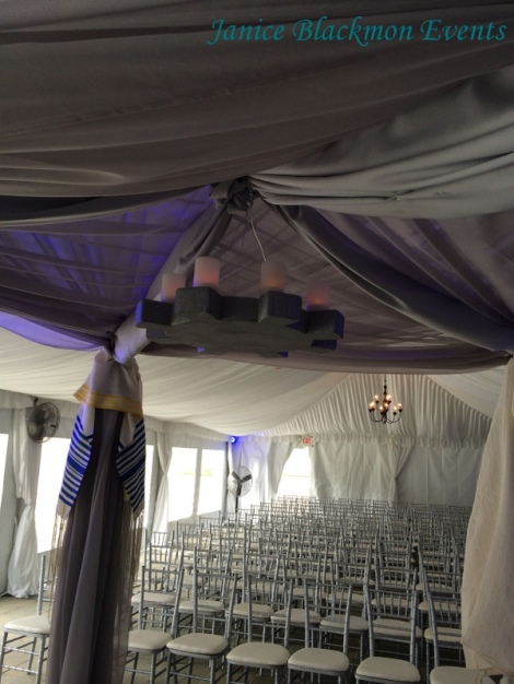 Under the Chuppah created by EventScapes