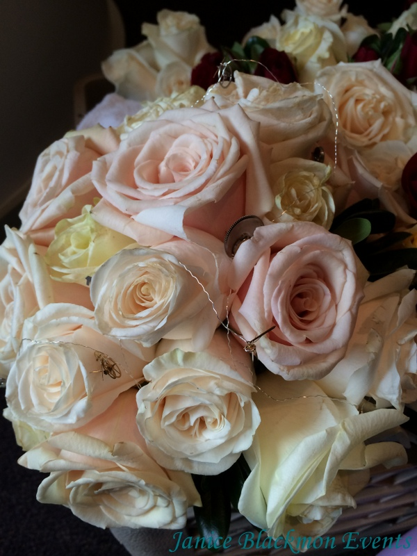 Brides bouquet with gears created by EventScapes