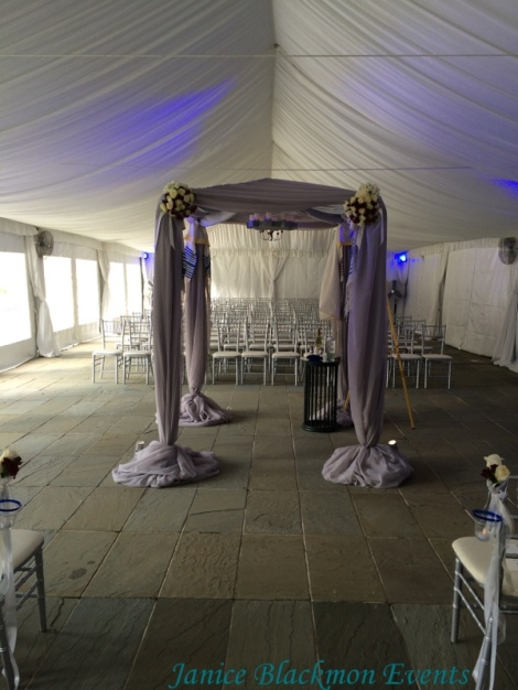 Chuppah by EventScapes