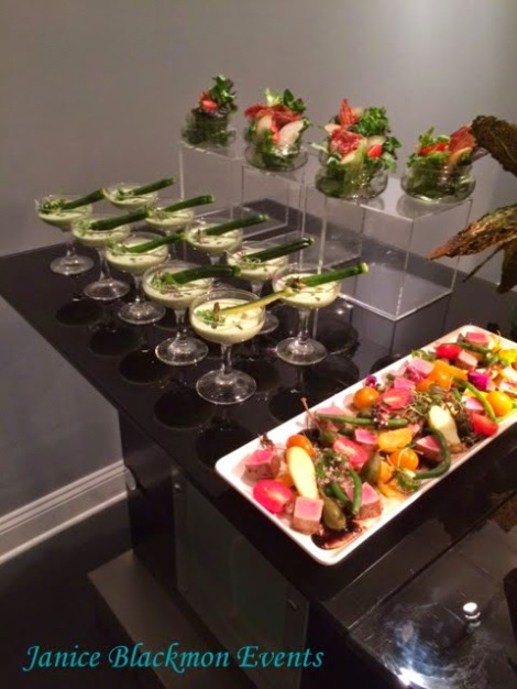Salad and appetizers