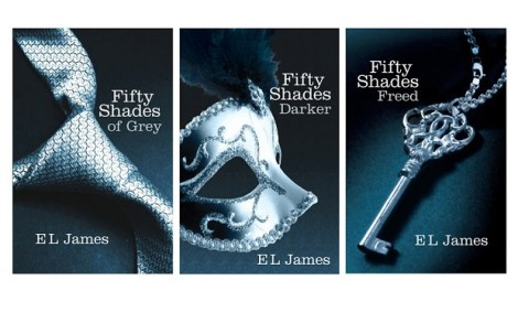 The Fifty Shades trilogy by E. L. James
