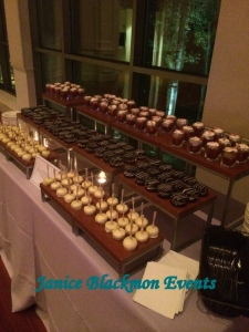 Dessert Display from side