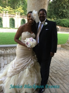 Bride and her dad