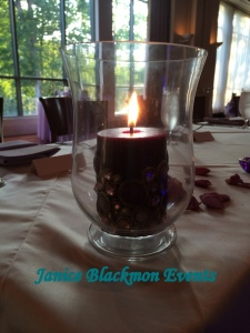 Candle on Head Table