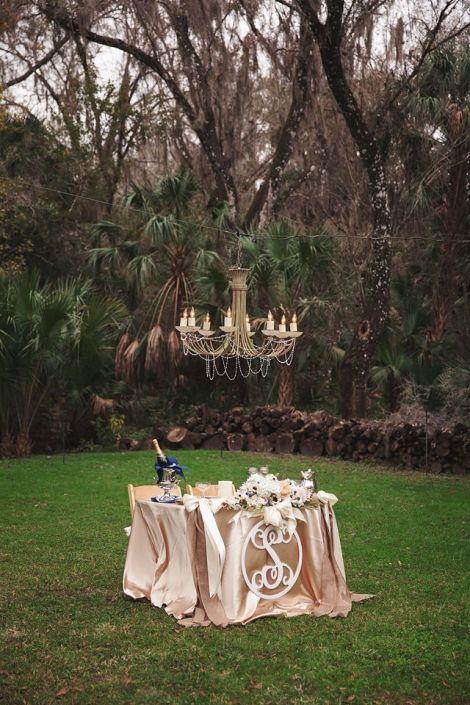 Windsong Oaks by Lauren Bates Photography ~ Sweetheart Table