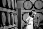 Couple in the cask room