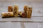 Rings on corks