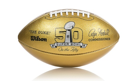 Super Bowl 50 2016 foorball