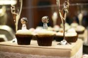 Cupcakes and flutes