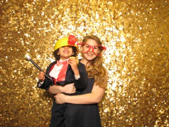 Ashley & Brayden photo booth